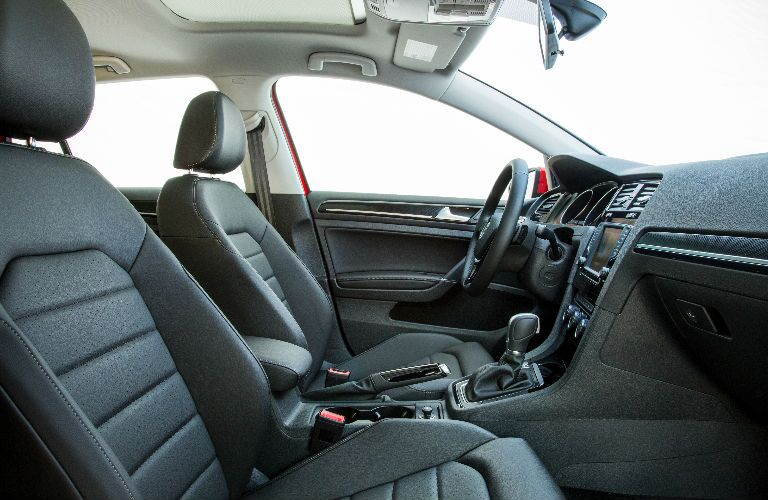 2016 VW Golf with heated leather seats