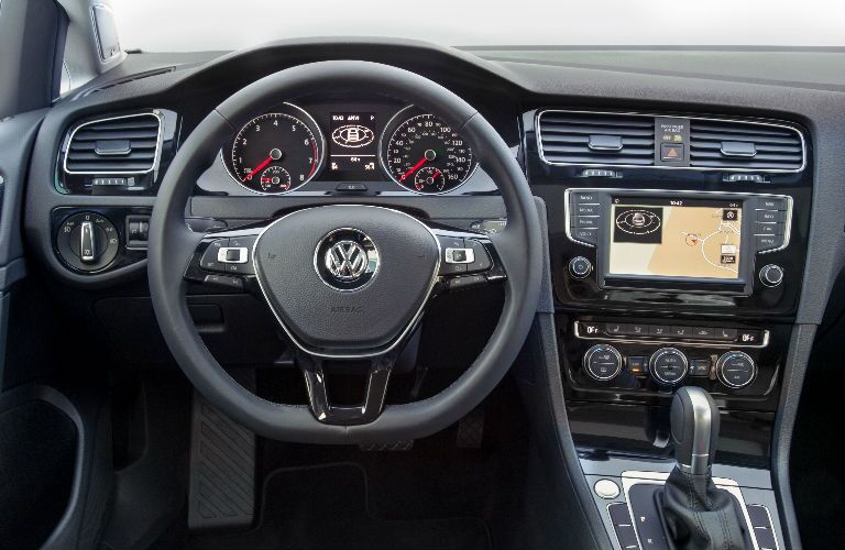 2016 VW Golf navigation system