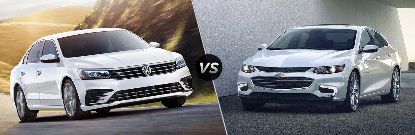 2016 Volkswagen Passat vs 2016 Chevy Malibu