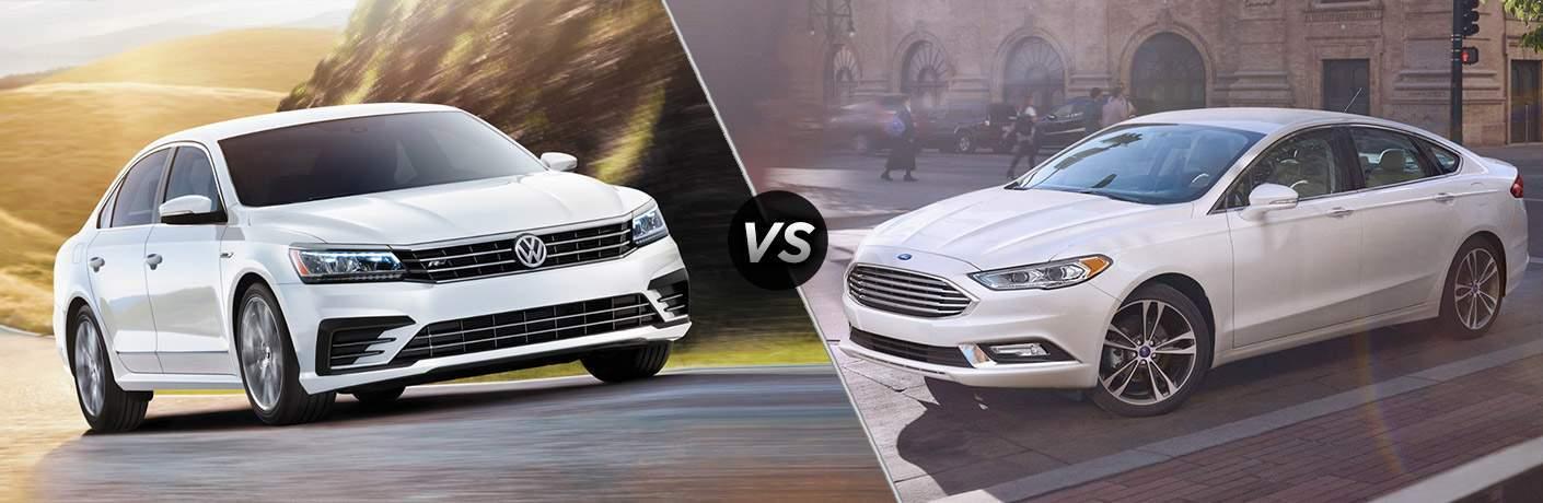 2017 Volkswagen Passat vs 2017 Ford Fusion