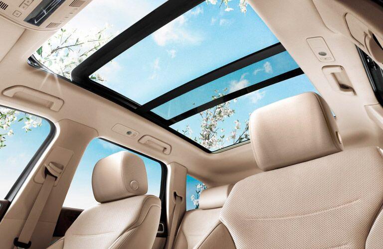 2017 Volkswagen Touareg interior sunroof