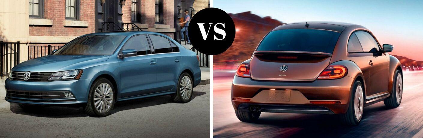 2017 Volkswagen Jetta vs 2017 Volkswagen Beetle