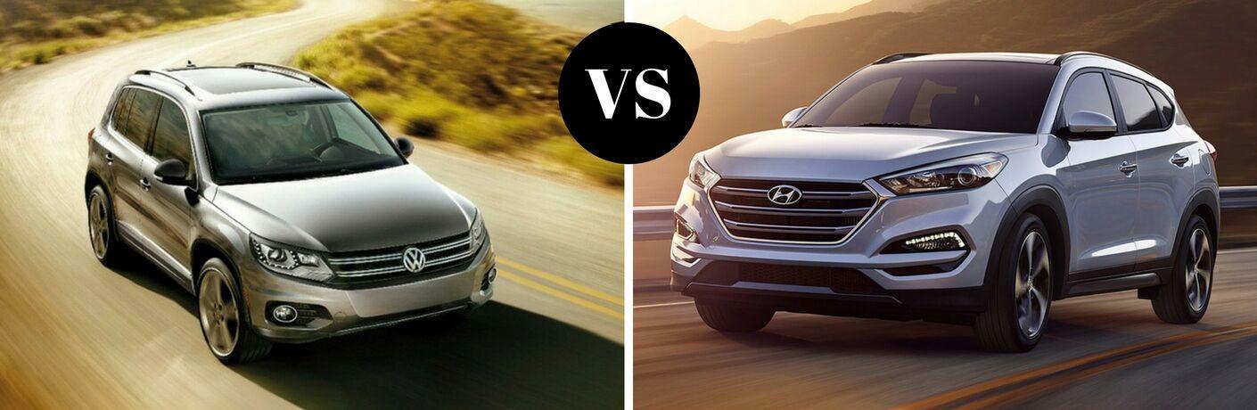 2017 Volkswagen Tiguan vs 2017 Hyundai Tucson