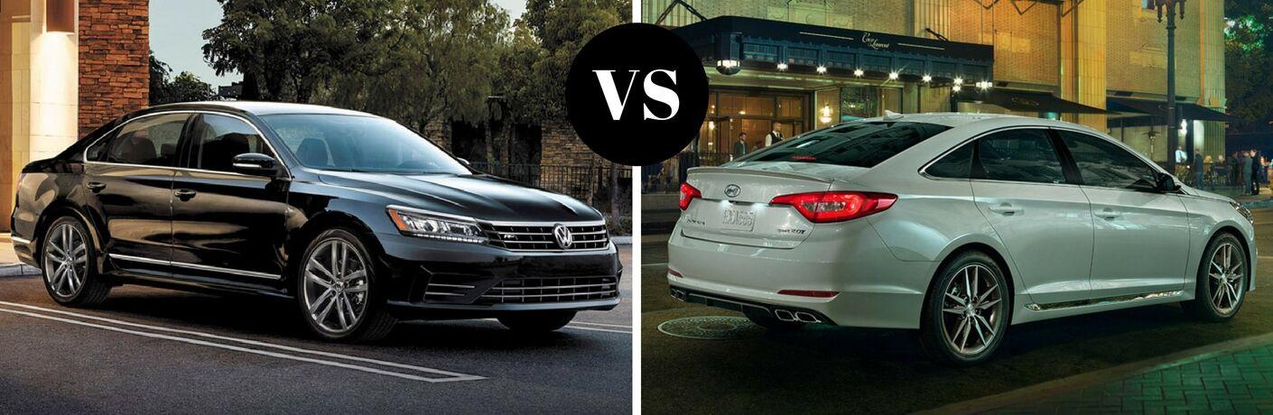 2017 Volkswagen Passat vs 2017 Hyundai Sonata