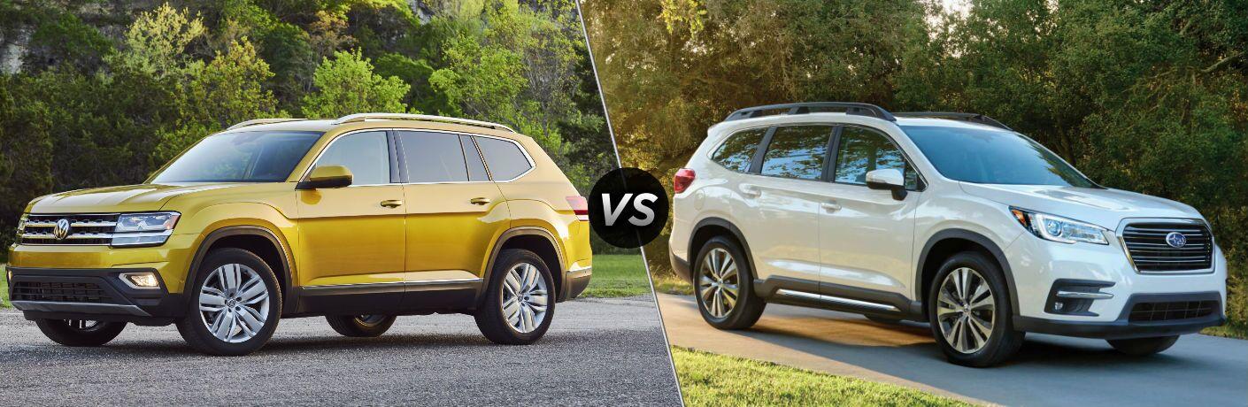 2018 Volkswagen Atlas vs 2019 Subaru Ascent