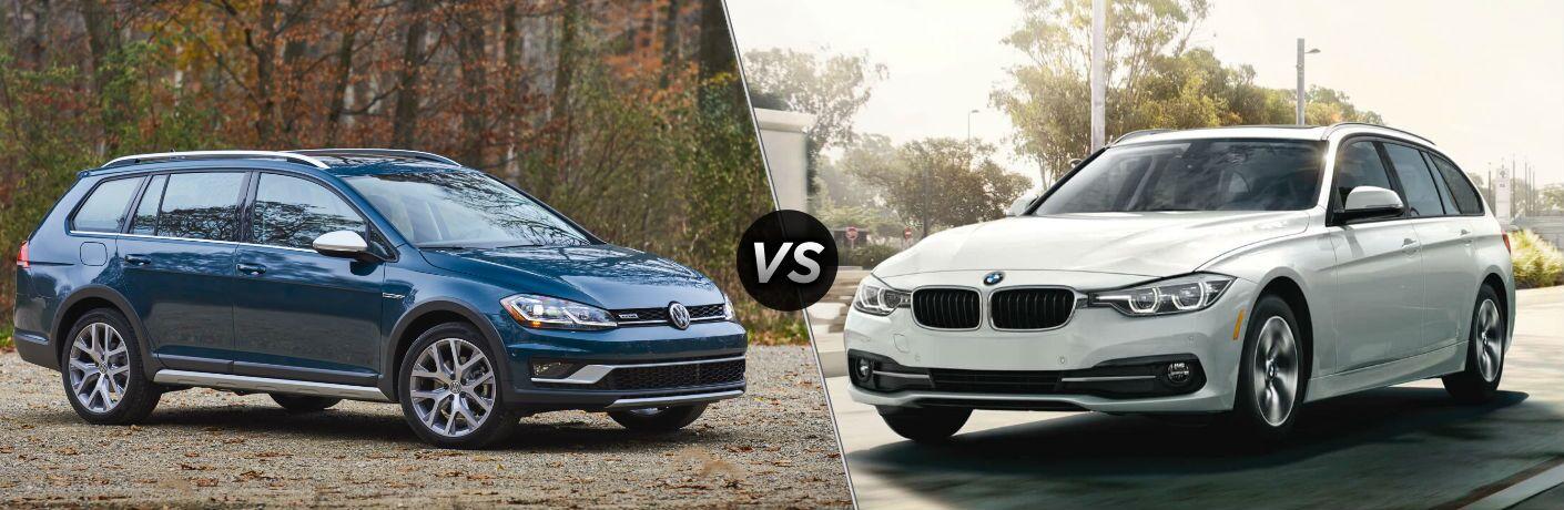 2018 Volkswagen Golf Alltrack vs 2018 BMW 330i xDrive Sports Wagon