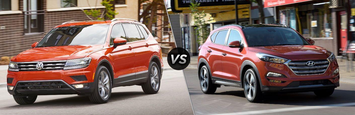 2018 Volkswagen Tiguan vs 2018 Hyundai Tucson