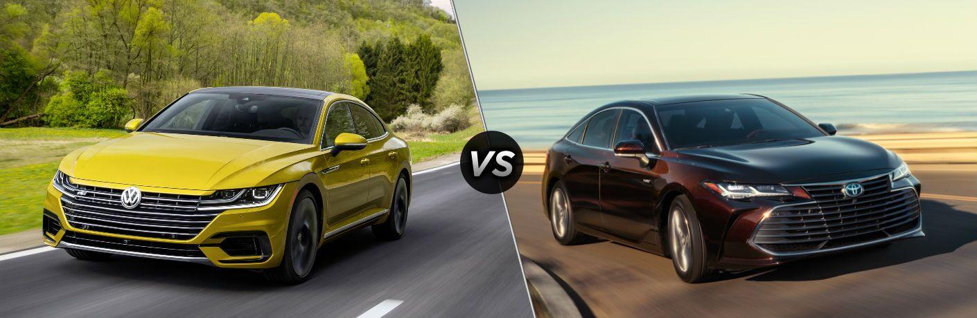 2019 Volkswagen Arteon vs 2019 Toyota Avalon