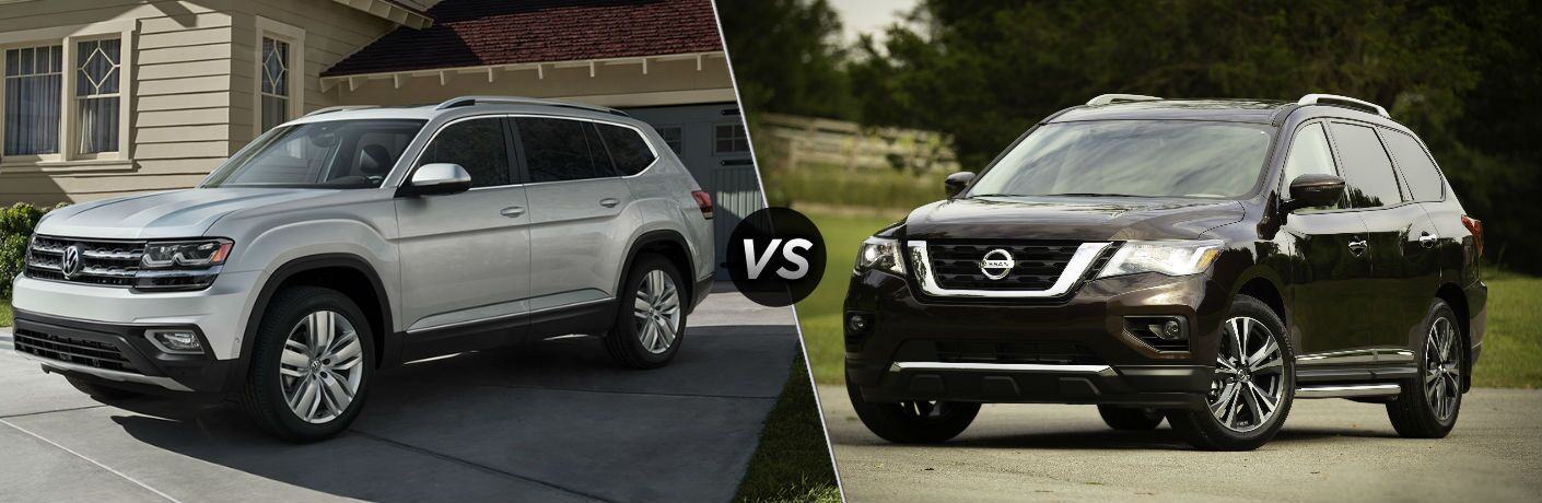 2019 Volkswagen Atlas vs 2019 Nissan Pathfinder