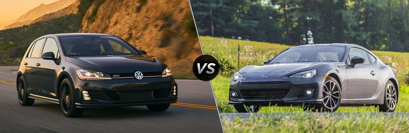2019 Volkswagen Golf GTI vs 2019 Subaru BRZ
