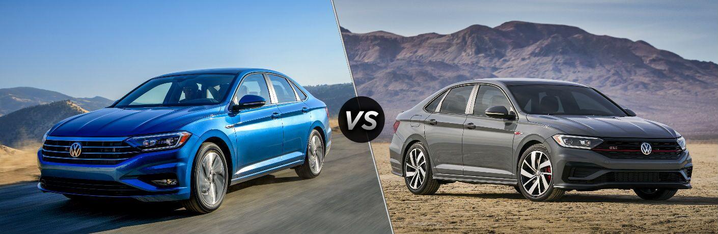 2019 Volkswagen Jetta vs 2019 Volkswagen Jetta GLI