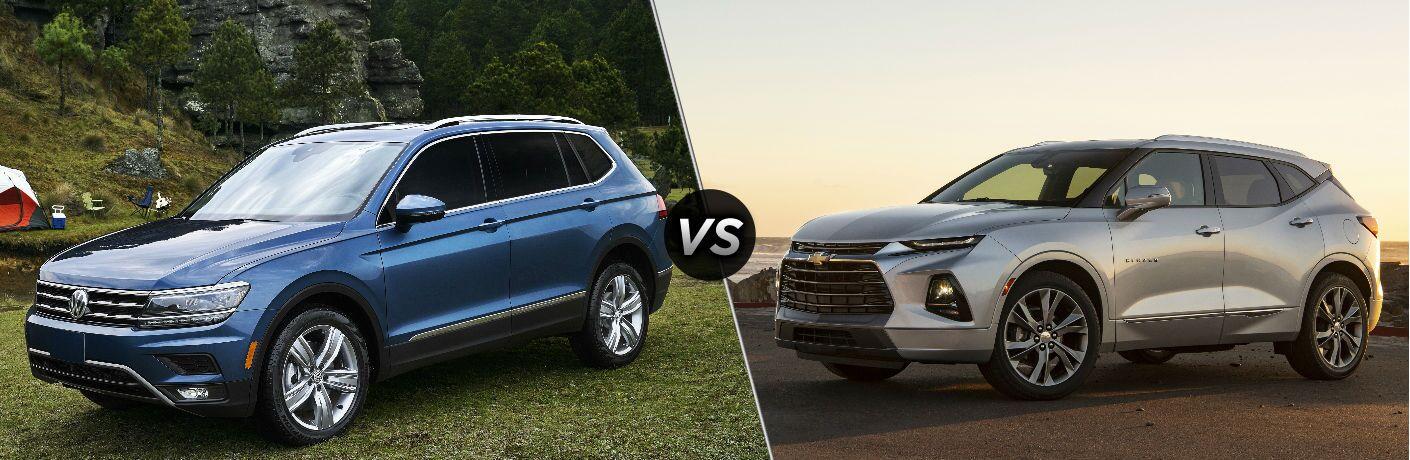 2019 Volkswagen Tiguan vs 2019 Chevy Blazer