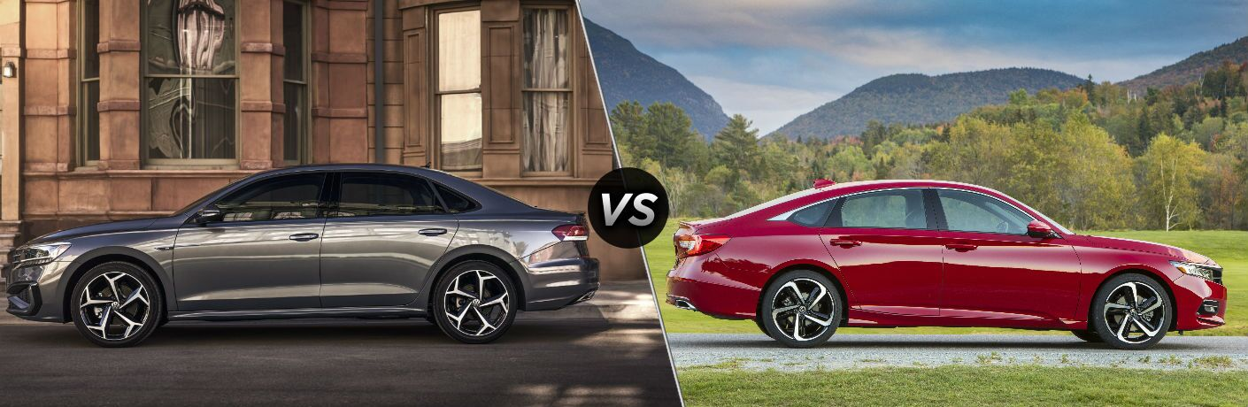 2020 Volkswagen Passat vs 2019 Honda Accord