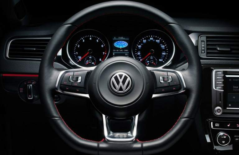 Jetta steering wheel