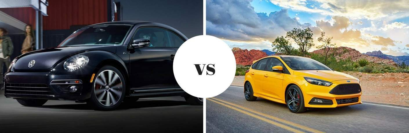 2017 Volkswagen Beetle vs 2017 Ford Focus ST