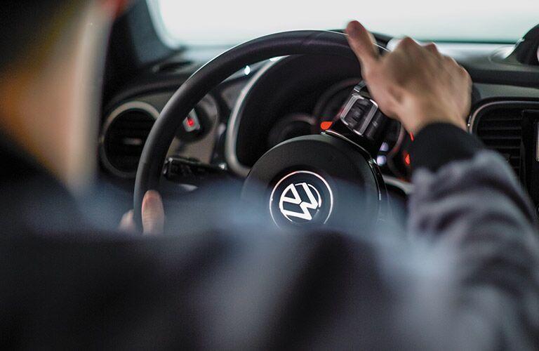 2017 Beetle multifunction steering wheel