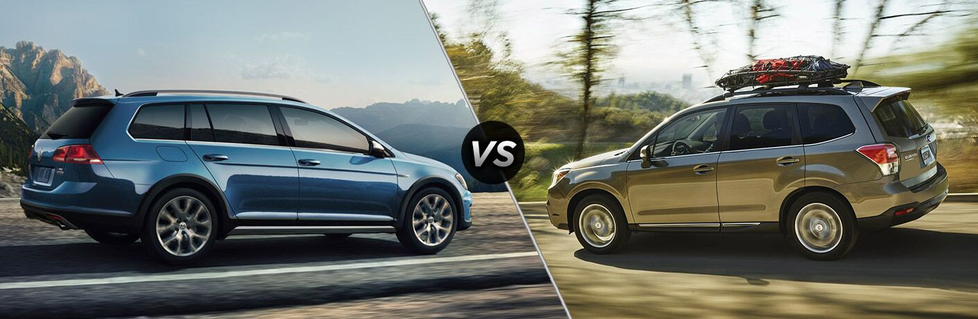 2017 Volkswagen Golf Alltrack vs 2017 Subaru Forester