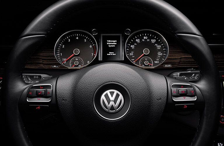 2017 Volkswagen CC multi-function steering wheel