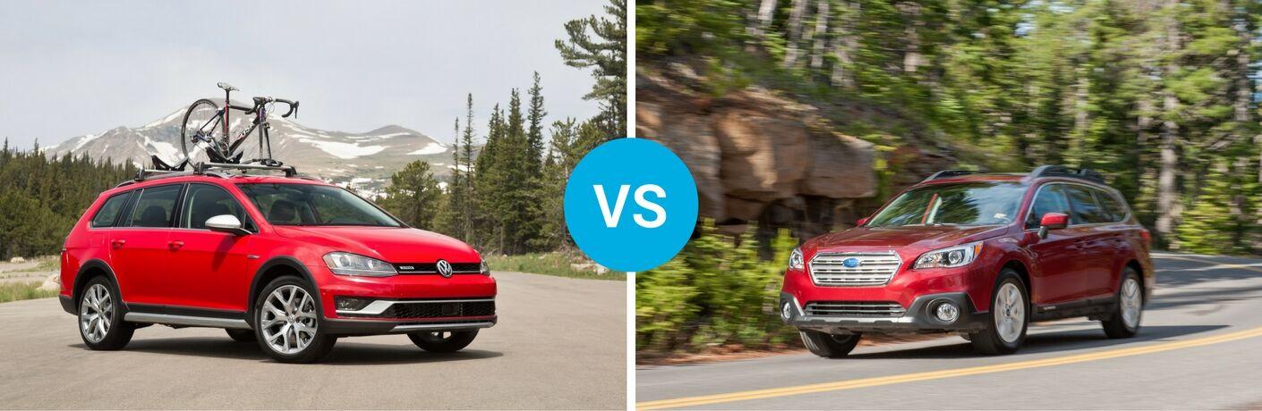 2017 Volkswagen Golf Alltrack vs 2016 Subaru Outback