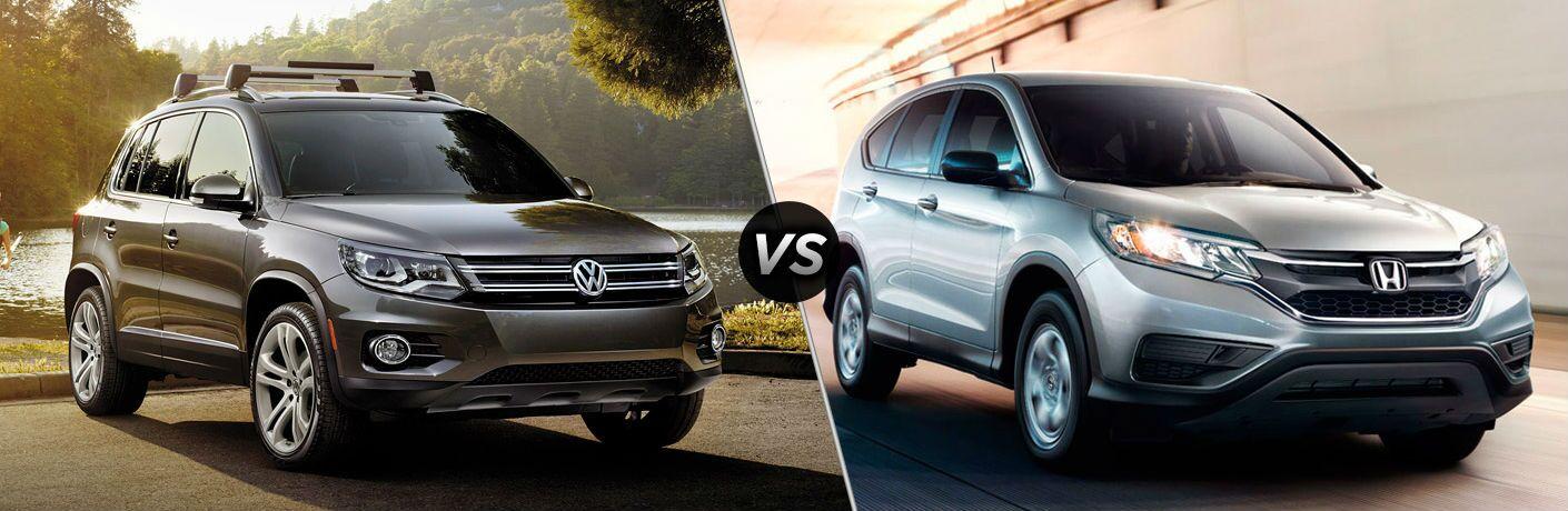 2017 Volkswagen Tiguan vs 2016 Honda CR-V