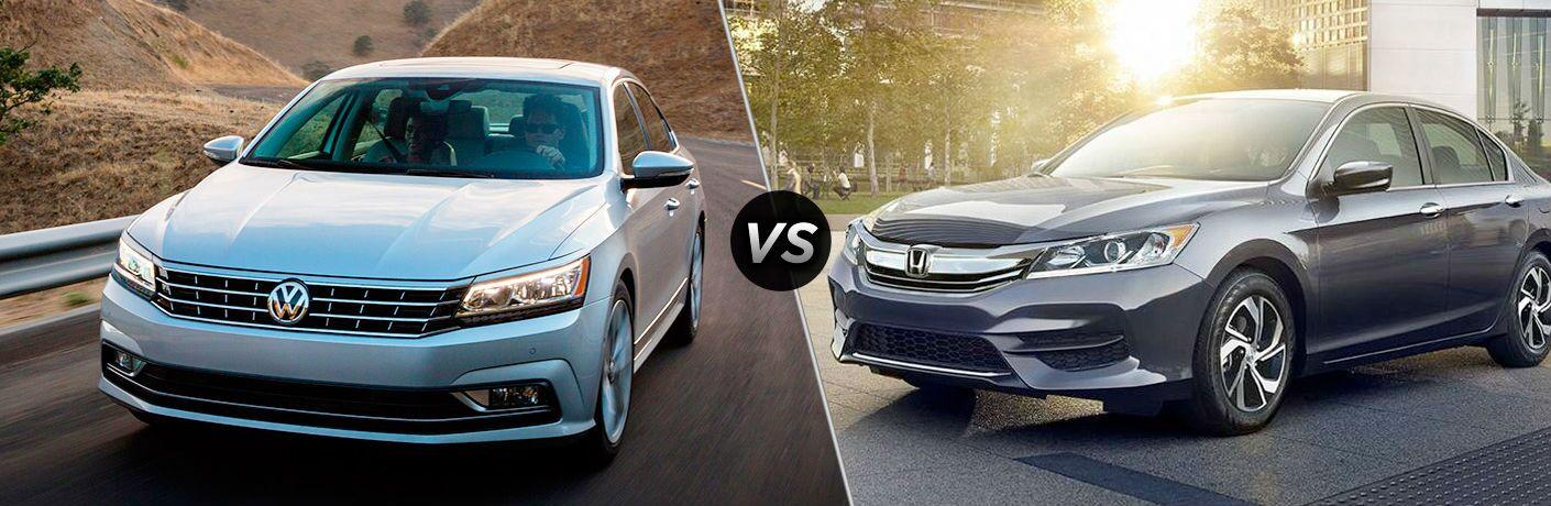 2017 Volkswagen Passat vs 2017 Honda Accord