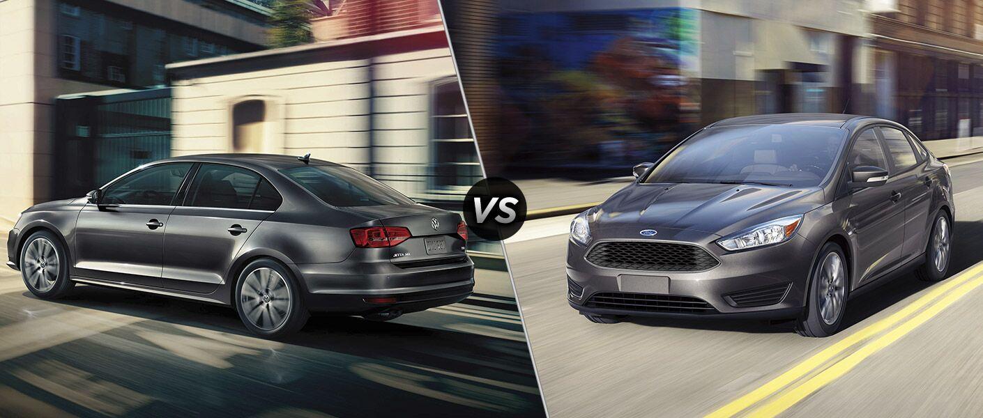 2017 Volkswagen Jetta vs. 2017 Ford Focus