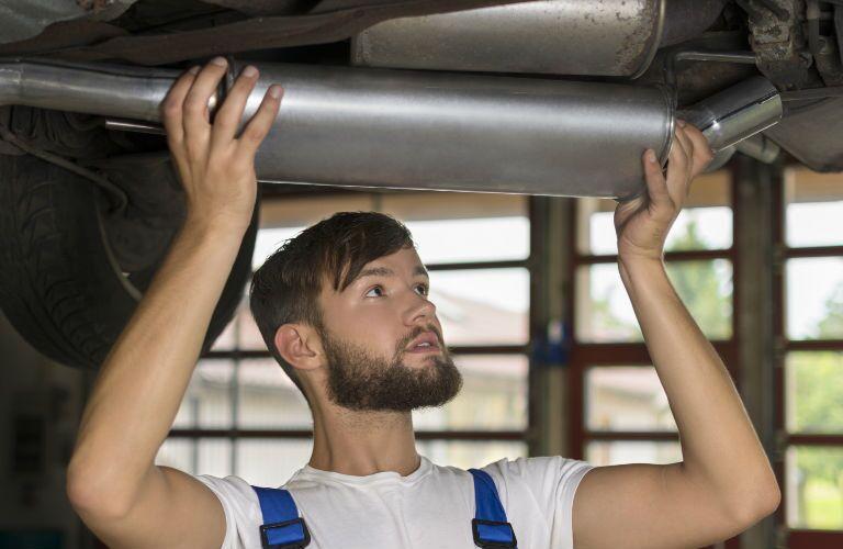 Muffler and Exhaust Repair Service Meriden CT signs and symptoms of exhaust muffler problems