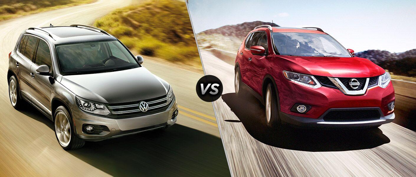 2016 Volkswagen Tiguan vs 2016 Nissan Rogue