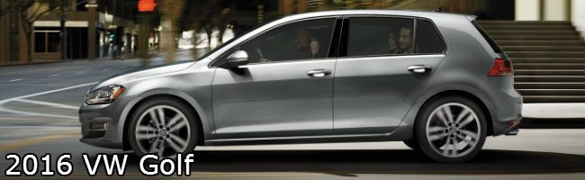 2016 vw golf profile design in silver paint color