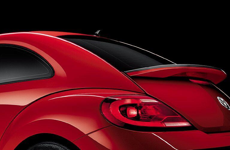 2016 Volkswagen Beetle rear exterior in red