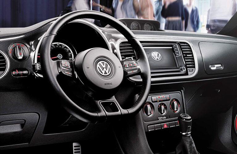2016 vw beetle interior dashboard design with kaferfach glovebox
