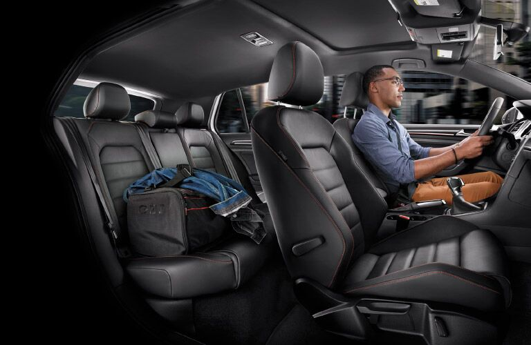 2016 Volkswagen Golf GTI Union County NJ cargo space passenger room seating materials