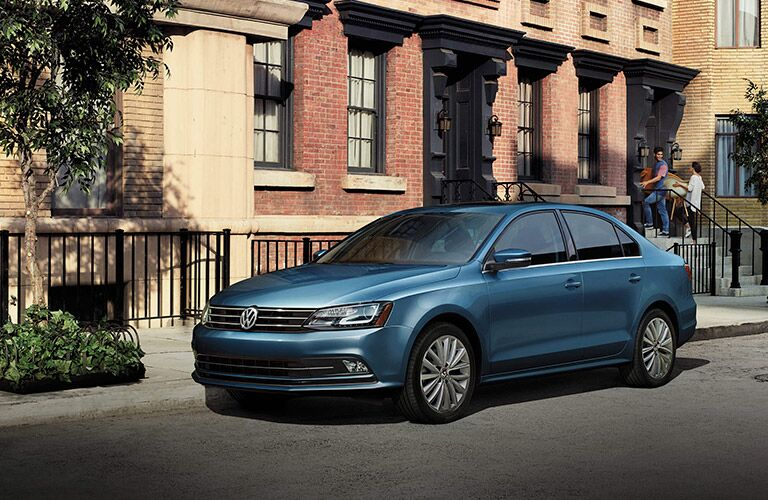 2016 vw jetta in blue paint color