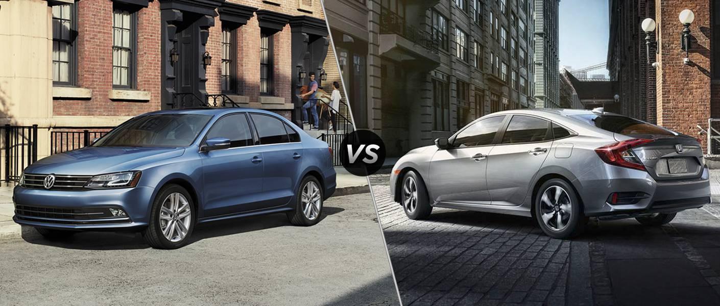 2016 Volkswagen Jetta vs 2016 Honda Civic