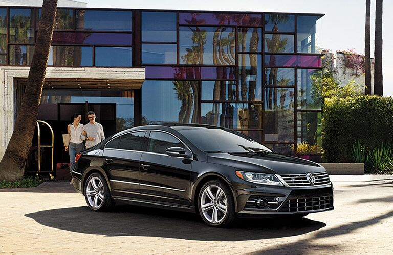 2016 Volkswagen CC in black paint color