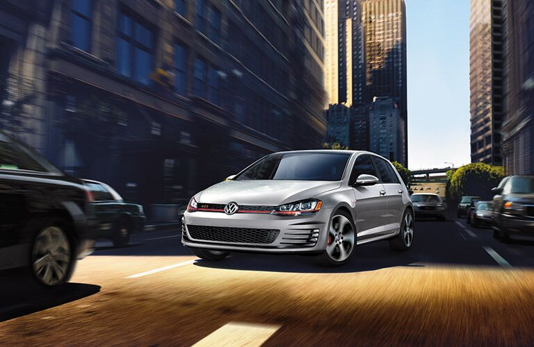 2016 vw golf gti front bumper grille design