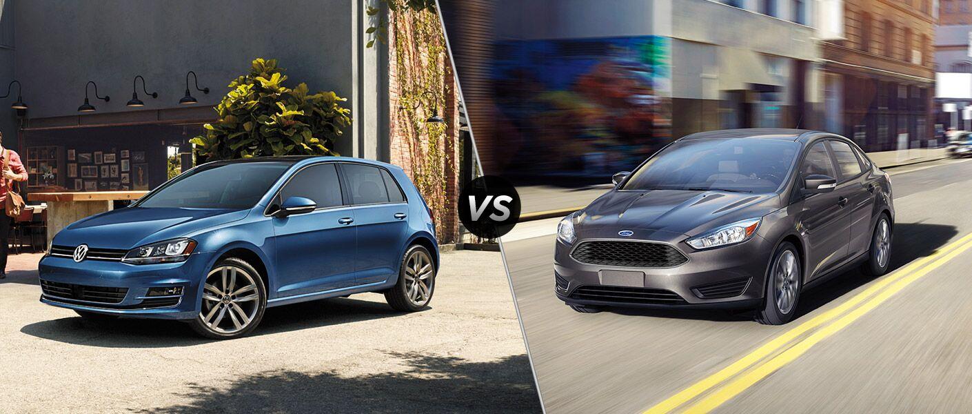 2016 Volkswagen Golf vs 2016 Ford Focus
