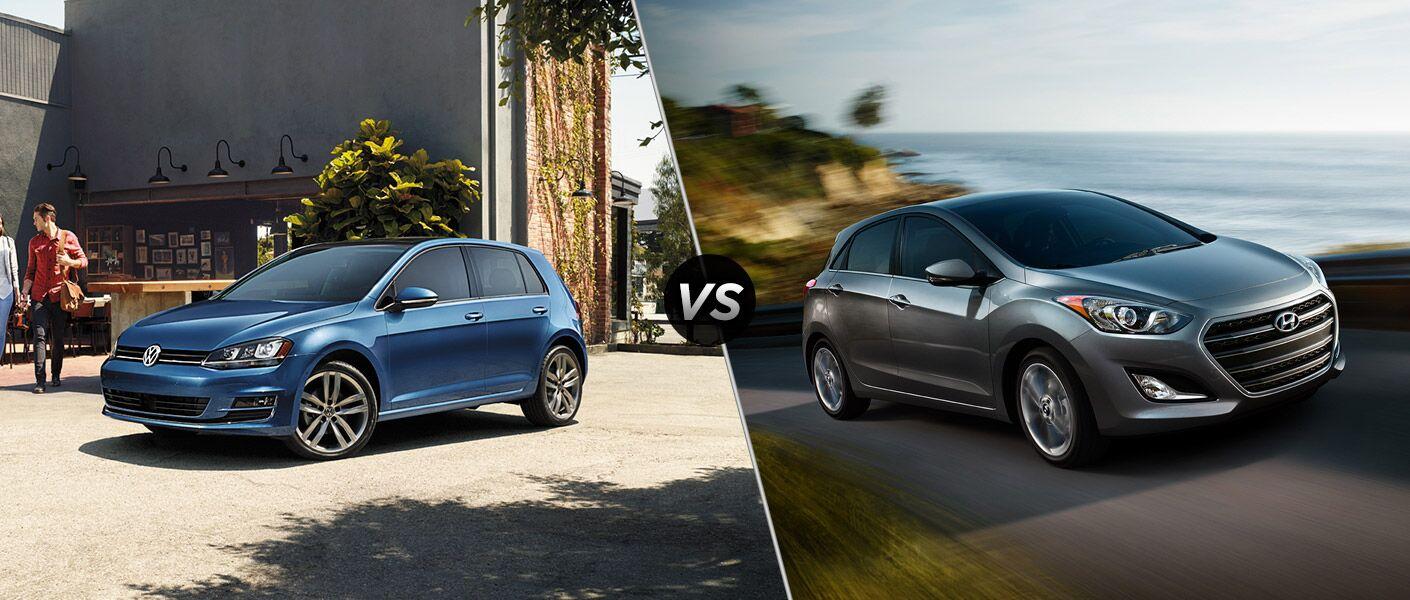 2016 Volkswagen Golf vs 2016 Hyundai Elantra GT