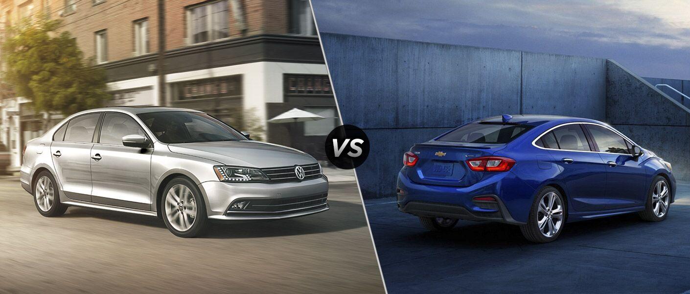 2016 Volkswagen Jetta vs 2016 Chevy Cruze