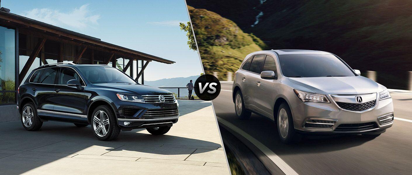 2016 Volkswagen Touareg vs 2016 Acura MDX
