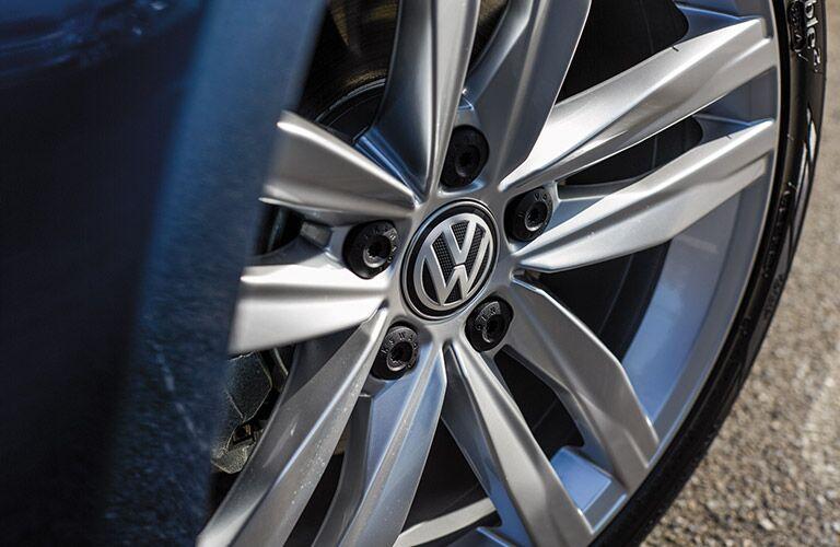 wheel design on the 2016 vw golf