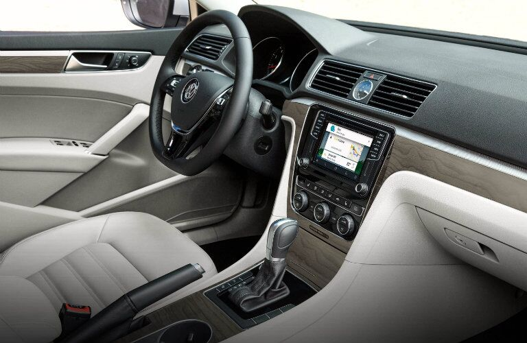 interior design changes in the 2016 vw passat