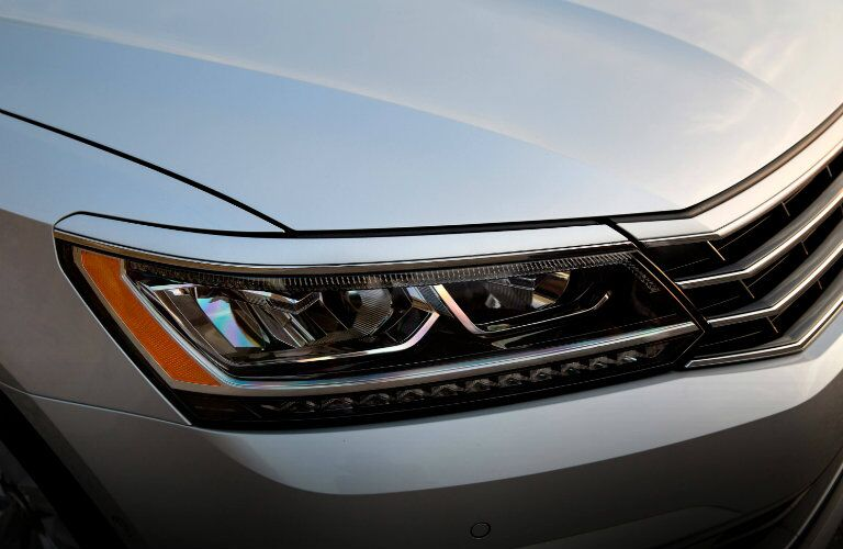 headlights on the 2016 vw passat
