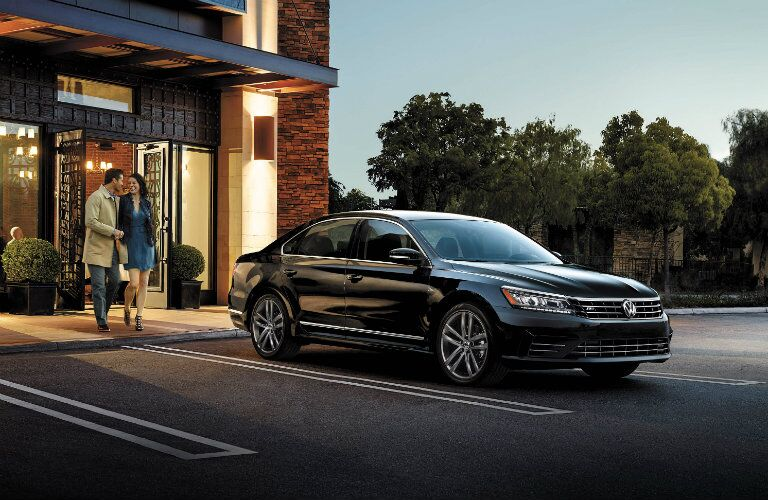 2016 vw passat in black paint color