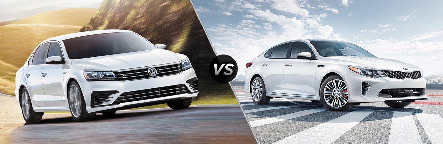 2017 Volkswagen Passat vs 2017 Kia Optima
