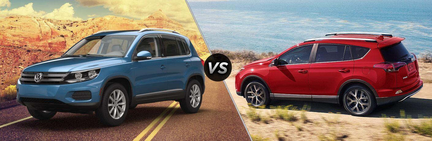 2017 Volkswagen Tiguan vs 2017 Toyota RAV4