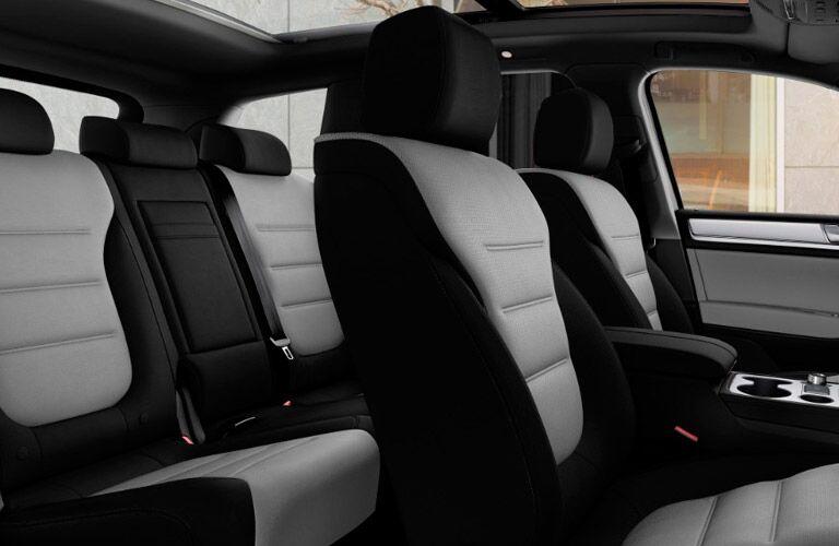 Interior seating in 2017 Volkswagen Touareg