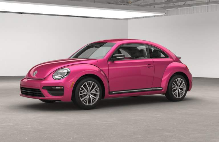 Volkswagen #PinkBeetle from the 2017 model year