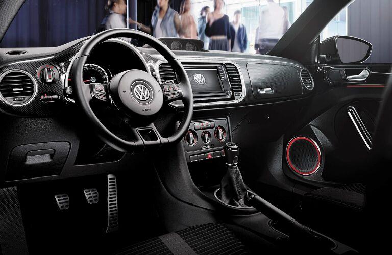 vw beetle dashboard design