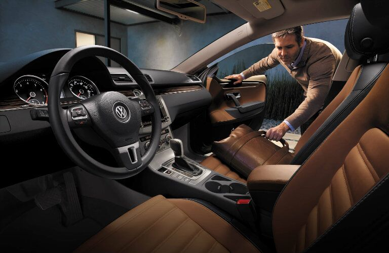 two tone seats in the 2017 vw cc